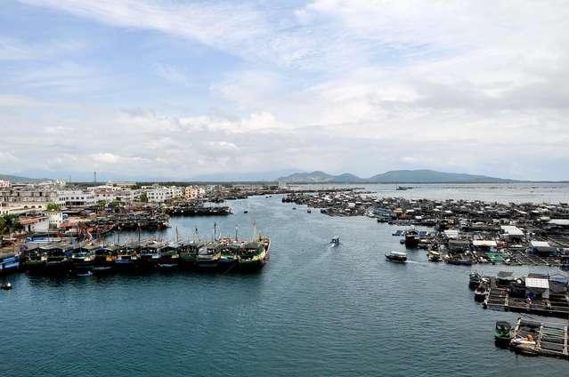 Хайнань, поселение морских циган