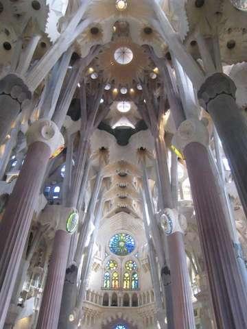 Храм Святого Семейства внутри
