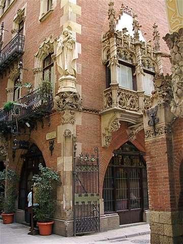 Готический квартал Барселоны