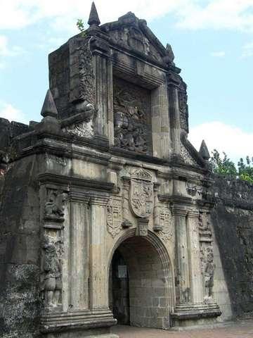 Ворота форта Сантьяго, Манила