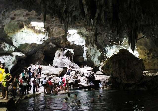 Пещера Hinagdanan. Увы фотографии пещер совсем не удались