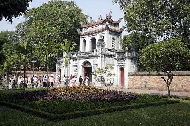 Главные ворота Храма Литературы