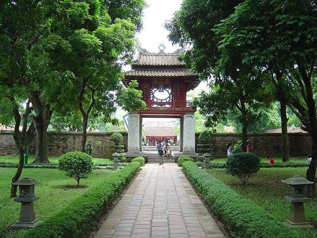 Второй дворик Храма Литературы
