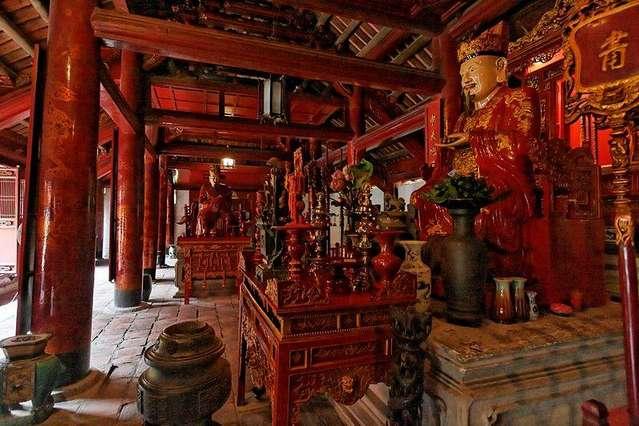 Алтарь Конфуция и его учеников