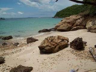 Дикий пляж на Ко Лан