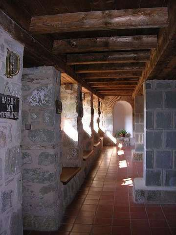 Коридоры Троицкого монастыря