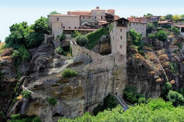 Преображенский монастырь или Мегала Метеора