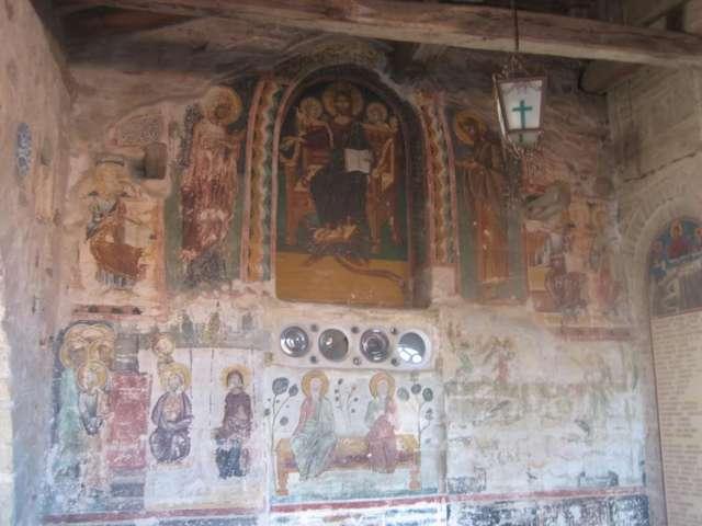 Фрески в Преображенском Монастыре