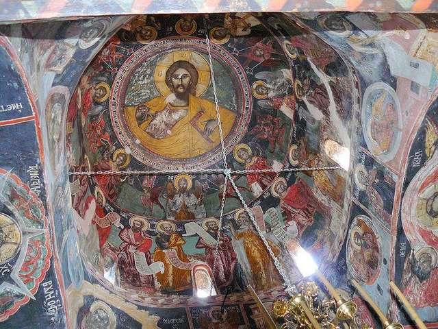 Купол Монастыря Святой Троицы