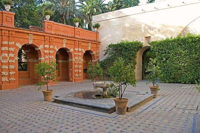Сад Трои в Севильском Алькасаре