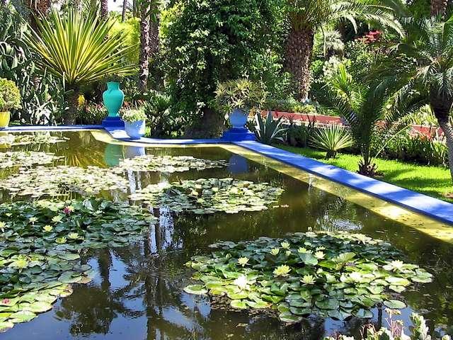 В саду Мажорель