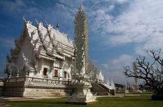 Храм Ват Ронг Кхун в провинции Чианг Рай