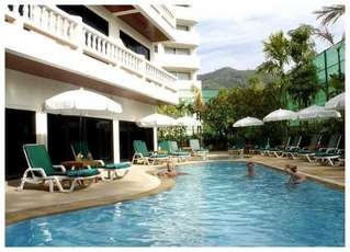 отель Patong Beach Lodge 2*