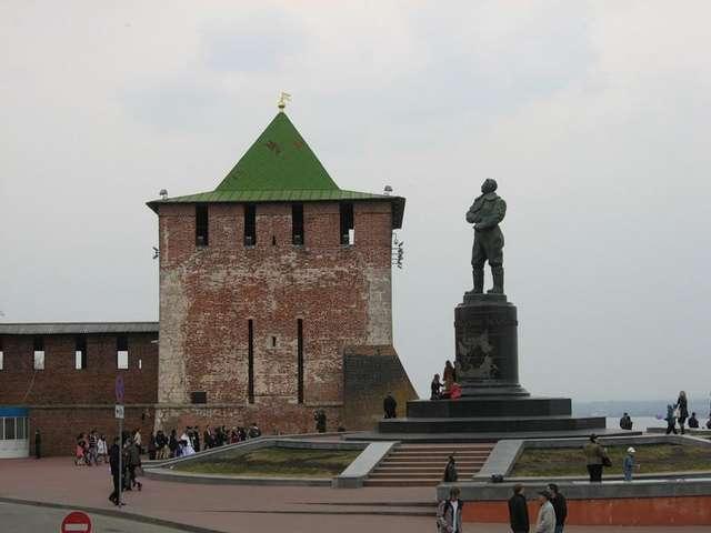 Нижегородский кремль Георгиевская башня