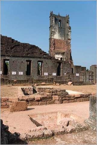 развалины комплекса св Августина