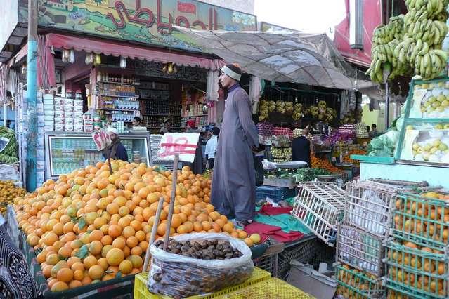 Хургада, рынок