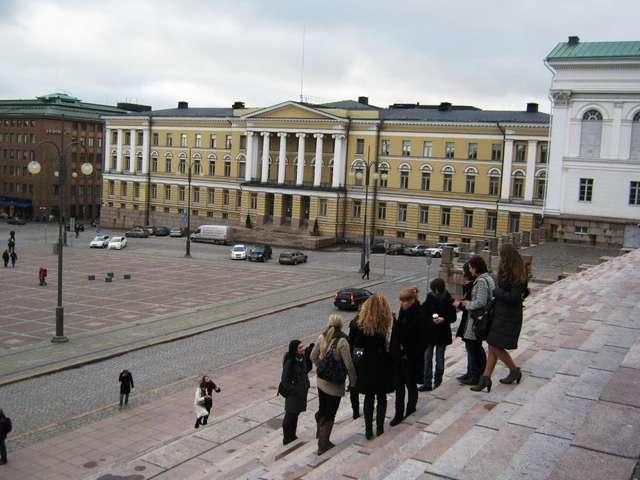 Главное здание Хельсинкского университета