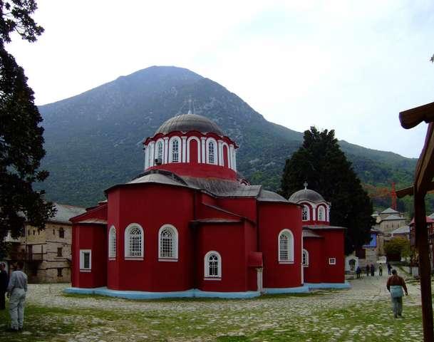 Кафоликон монастыря Великая Лавра