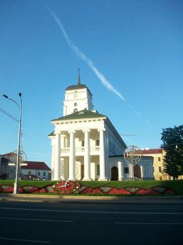 Здание бывшей ратуши. Верхний город