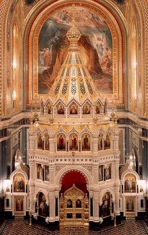 Главный иконостас храма