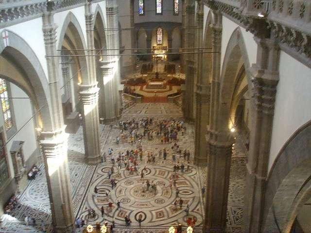 Общий вид собора внутри