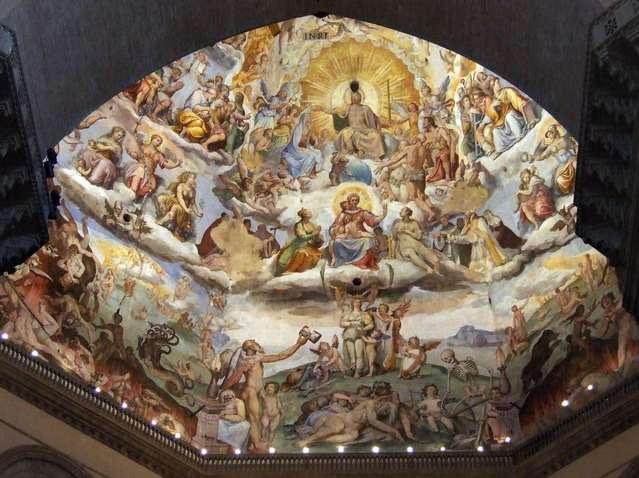 Роспись купола собора Санта Мария дель Фьоре