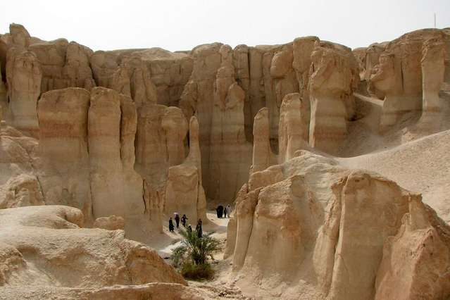Jabal Qarah, Саудовская Аравия