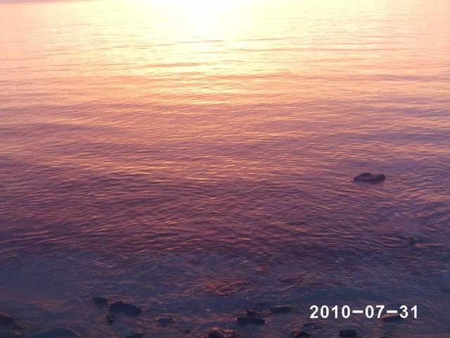 Закаты почти всегда такие волшебные)))