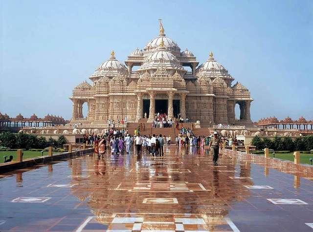 Акшардхам в Индии