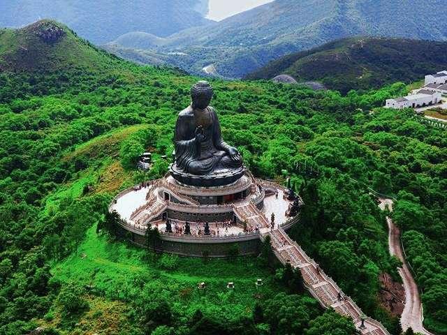 Монастырь По Линь на острове Лантау