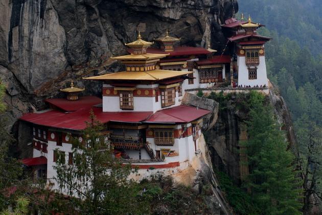 Монастырь Таксанг-лакханг в Бутане