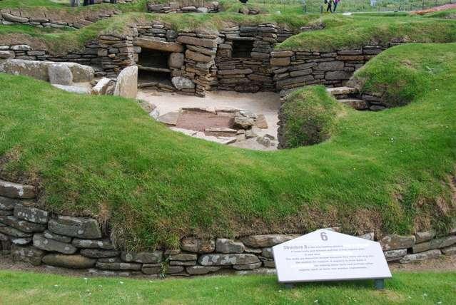 Скара Брае в Шотландии