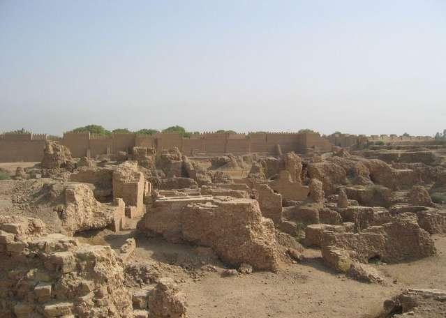 Руины Вавилона в Ираке