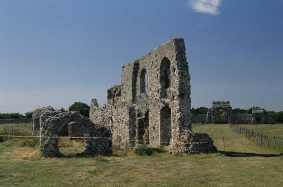 Руины монастыря Грейфрайзерс в Данвиче