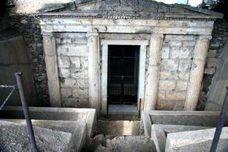 Музей Королевских гробниц в Вергине