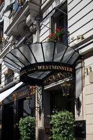 отель Westminster Opera Paris 4*