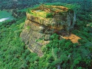 Шри-Ланка, гора-крепость Сигирия