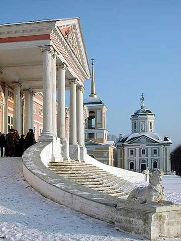 Церковь Спаса в Кусково
