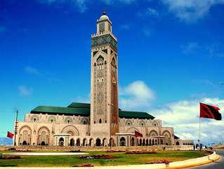 Касабланка, мечеть Хасана II
