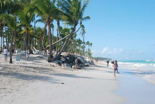 Пляжи в Пунта Кане