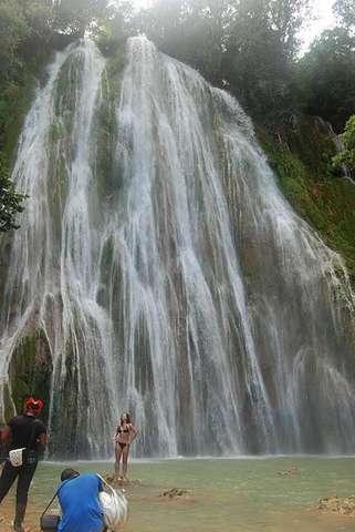 Самый высокий водопад в Доминикане