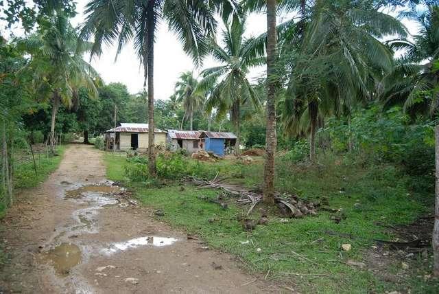 Примерно так выглядит средняя деревушка в глубинке Доминиканы