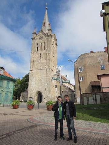 Цесисская католическая ратуша, Латвия. 12 век.