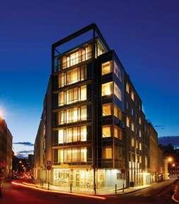 отель Longin Center, Prague - Marriott Executive Apartments 5*