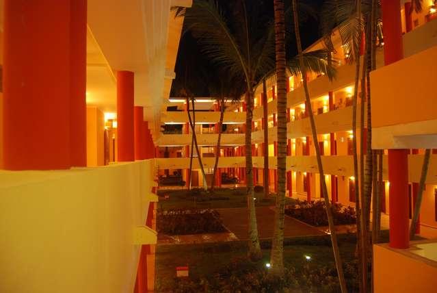 Внутренний дворик отеля Иберстар Пунта Кана