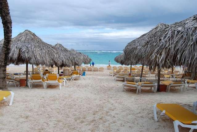 Пляж отелей Иберостар Пунта Кана и Иберостар Доминикана