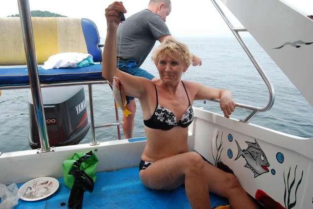 Первый улов на рыбалке