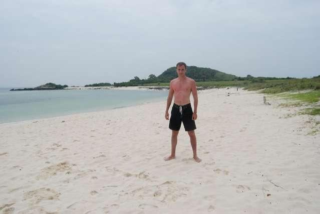 Пляж на острове Ко Рин