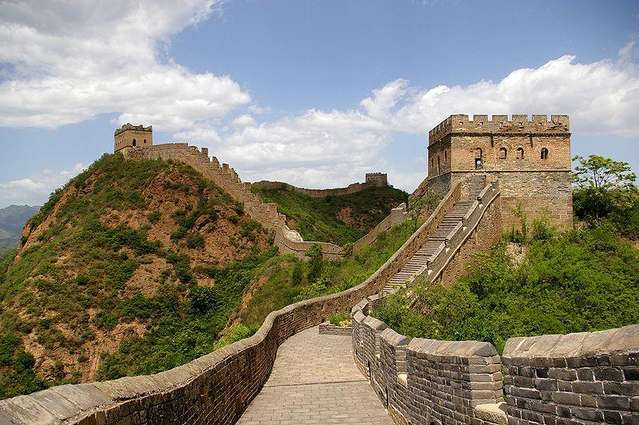 a history of the building of the great wall of china as protection against outside threats Who built the great wall of china,,was it black african slaves built the great wall to protect their nation against if you wanted a big building.