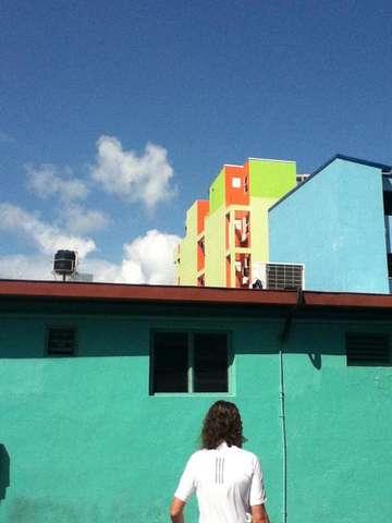 Разноцветные кварталы Мале